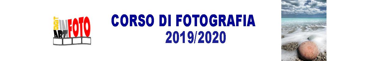 CORSO DI FOTOGRAFIA DI BASE 2020/2021
